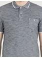 Loft Polo Yaka Tişört İndigo